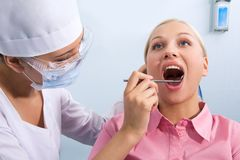 Dental checkup Stock Photography
