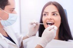 Dental checkup Royalty Free Stock Image