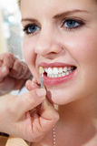Dental cleaning Stock Photos