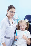 In the dental clinic Stock Photography