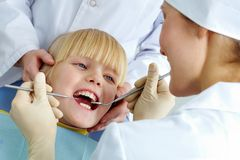 In dental clinic Stock Photos
