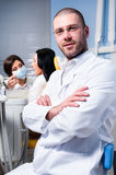 At dental clinic Stock Photography