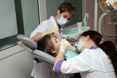 Dental clinic Royalty Free Stock Photos