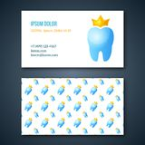 Dental Clinic Corporate Identity Template. Royalty Free Stock Photo