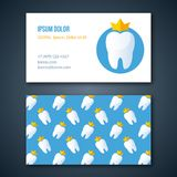 Dental Clinic Corporate Identity Template. Royalty Free Stock Photos
