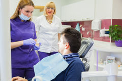At Dental Clinic royalty free stock photos