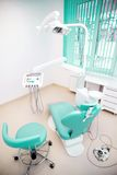 Dental clinic interior design with chair and tools Royalty Free Stock Images