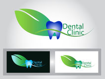 Dental clinic logo Stock Photography