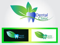 Dental clinic logo Stock Image