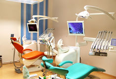 Dental clinic office with equipment Stock Photography