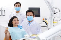 In dental clinic Stock Photo