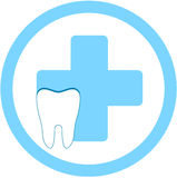 Dental clinic symbol Stock Photos