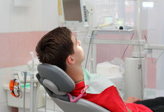 In Dental Clinic Royalty Free Stock Photography