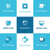 Dental Clinic Teeth Logo Stock Photography
