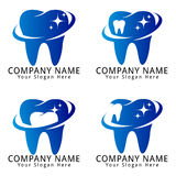 Dental Concept Logo Stock Image