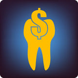 Dental cost Stock Images