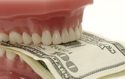 Dental Costs stock image