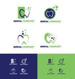 Dental dentist logo Royalty Free Stock Photography