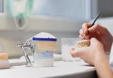 Dental dentist objects Royalty Free Stock Photos