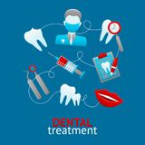 Dental Design Concept Stock Image
