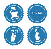 Dental design Stock Photography