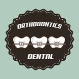 Dental design stock illustration