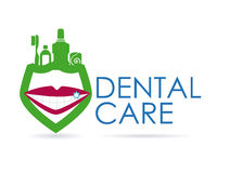 Dental design Stock Photography