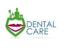 Dental design. Over white background, vector illustration Stock Photography