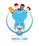 Dental design Stock Image