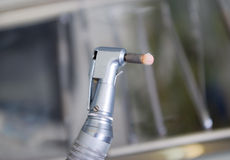 Dental drill . Royalty Free Stock Photo