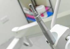 Dental drill motor tool.  High Speed Hand-piece Tool dentist Royalty Free Stock Photo