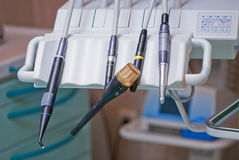 Dental drill unit Royalty Free Stock Photos