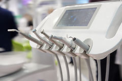 Dental drilling machine close up Stock Image