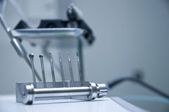 Dental drills Stock Image