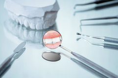 Dental equipment Royalty Free Stock Images