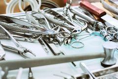 Dental equipment Stock Images