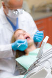 Dental equipment close up stomatology clinic Stock Photography