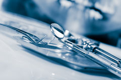 Dental equipment Royalty Free Stock Photography