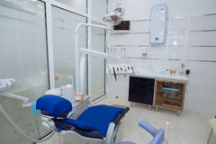 Dental equpments in dental office. Dental equpments in dental clinic Stock Photos