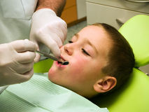 Dental examination Stock Photos