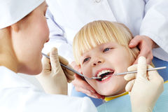 Dental examination Royalty Free Stock Photos