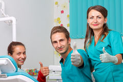 Dental examination royalty free stock images