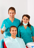 Dental examination Stock Image