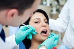 Dental examining Stock Photography