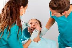 Dental filling Royalty Free Stock Photos