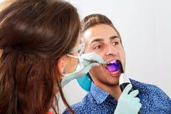Dental filling royalty free stock image
