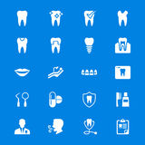 Dental flat icons Stock Images