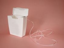Dental Floss Royalty Free Stock Photos