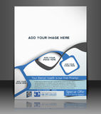Dental Flyer Design Stock Photo