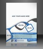 Dental Flyer Design. Dental Flyer & Poster Template Design Stock Photo